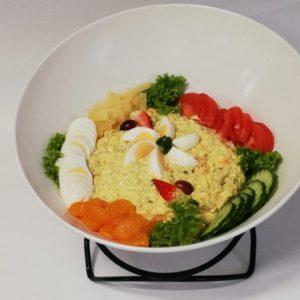 Salades-Kipkerriesalade